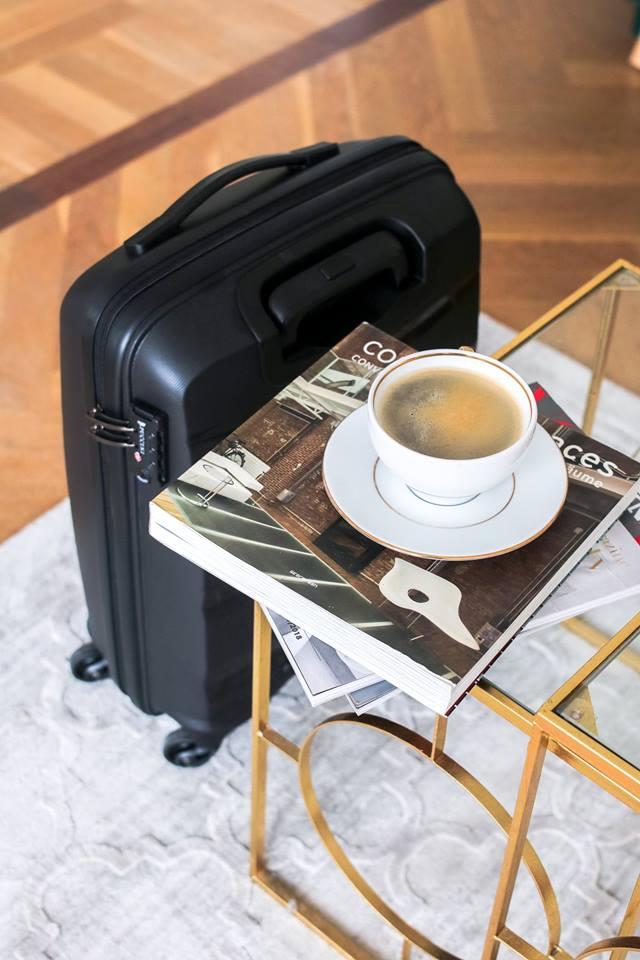 Reisikohver käsipagasi mõõtmetes 55x40x20