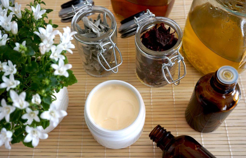 Kosmeetika säilitamine - looduskosmeetika